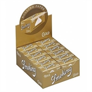 Caixa de Seda Smoking Gold Rolo